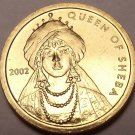 Gem Unc Somalia 2002 100 Shillings~The Queen Of Sheba~Fantastic~Free Shipping