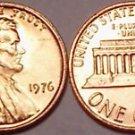 1976-P BRILLIANT GEM UNC LINCOLN CENT~VERY NICE~FREE SH