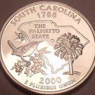Gem Cameo Proof 2000-S South Carolina State Quarter~Free Shipping Included~