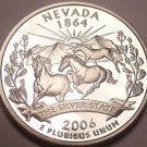PROOF CAMEO 2006-S NEVADA STATE QUARTER~FREE SHIPPING~