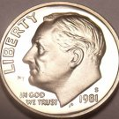 1981-S PROOF ROOSEVELT DIME~GREAT PRICE~FREE SHIPPING~