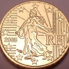Gem Brillaint Unc France 2005 10 Euro Cents~Excellent Design~Free Shipping