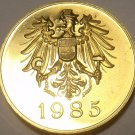 AUSTRIA 1985 PROOF SET MEDALLION~EXCELLENT~FREE SHIPPING~