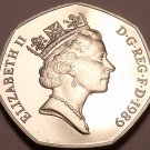 Scarce Proof Great Britain 1989 50 Pence~Only 100,000 Minted~Proofs R Best~FR/Sh