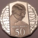 Huge Cameo Proof Australia 1995 50 Cents~Wearly Dunlop~Only 48k Minted~Free Ship
