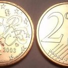 FRANCE 2003 2 EURO CENTS~WE HAVE LOTS OF UNCIRCULATED~