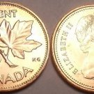 CANADA 1980 UNCIRCULATED CENT~MAPLE LEAF CENT~FREE SHIP