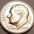 United States 2000-S Roosevelt Dime~We Have Thousands Of Proof Coins~Free Ship