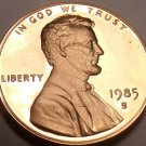 BLAZING RED 1985-S SUPER NICE LINCOLN PROOF~FREE SHIP~