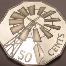 Huge Cameo Proof Australia 2002-B 50 Cents~Windmill~Only 39k Minted~Free Ship