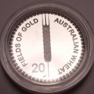 Large Proof Australia 2012 20 Cents~Fields Of Gold~The Australian Wheat~Fr/Ship