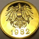 AUSTRIA 1982 PROOF SET MEDALLION~EXCELLENT~FREE SHIP~