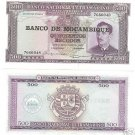 HUGE UNC MOZAMBIQUE 500 ESCUDOS BEAUTIFUL FREE SHIPPING