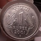 Roll (35 Coins) Circulated India Rupee Coins~Dates Between 1993-2004~Free Ship