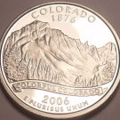 Gem Cameo Proof 2006-S Colorado State Quarter~See All Our State Quarters~Free Sh