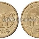 UNC 2002-F GERMANY 10-EURO CENTS~BRANDENBURG~FREE SHIP~