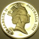 CAMEO PROOF AUSTRALIA 1988 5 CENTS~SHORT-BEAKED SPINEY ANT-EATER~FREE SHIPPING~