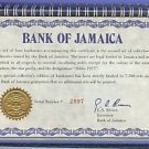 INCREDIBLY RARE DOUBLE SET OF JAMAICA NOTES 1 OF A KIND~FREE SHIPPING
