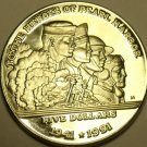 MASSIVE PROOF MARSHALL ISLANDS 1991 5 DOLLARS~HEROES OF PEARL HARBOR~FREE SHIP~