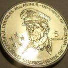 Massive Unc Niue 1989 5 Dollars~General Macarthur~Soldiers Never Die~Free Ship