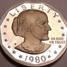 Cameo Proof 1980-S Susan B. Anthony Dollar~ See All Our Proofs~Free Shipping