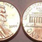 2008-P BRILLIANT UNCIRCULATED LINCOLN CENT~~FREE SHIP~~