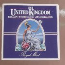 Gem Great Britain 1984 Royal Mint Issued 8 Coin Brilliant Unc Coin Set~Free Ship