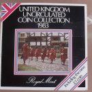Gem Great Britain 1983 Royal Mint Issued 8 Coin Brilliant Unc Coin Set~Free Ship