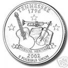 2002-D TENNESSEE BRILLIANT UNCIRCULATED STATE QUARTER