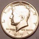 BRILLIANT UNCIRCULATED 1971-D KENNEDY HALF DOLLAR~FR/SH