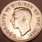 Gem Unc Silver Canada 1939 Dollar~Royal Visit~Free Shipping