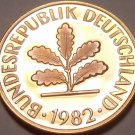 Gem Cameo Proof Germany 1982-D Pfennig~Minted In Munich~78,000 Minted~Free Ship