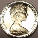 CAMEO PROOF AUSTRALIA 1977 5 CENTS~SHORT-BEAKED SPINEY ANT-EATER~FREE SHIPPING~