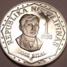 HUGE PROOF CAMEO PHILLIPINES 1975 1 PISO~FREE SHIPPING~