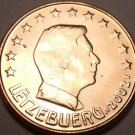 GEM UNC 2002 LUXEMBOURG 5-EURO CENTS NICE FREE SHIPPING