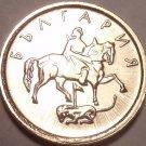 Gem Unc Bulgaria 2000 1 Stotinka~Madara Horseman~Free Shipping