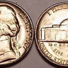 UNCIRCULATED 1967-P JEFFERSON NICKEL~FREE SHIPPING~WOW