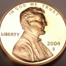 2004-S BLAZING RED FANTASTIC PROOF CENT~FREE SHIPING~
