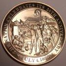 1826~NATION CELEBRATES ITS 50TH ANNIVERSARY~ADAMS~JEFFERSON~BRONZE~FREE SHIPPING