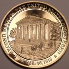 1816~SECOND BANK OF U.S. CHARTERED~AMERICAN BIBLE SOCIETY~BRONZE PROOF~FREE SHIP