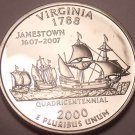 Cameo Proof 2000-S Virginia State Quarter~See All Our Proof Coins~Free Shipping~