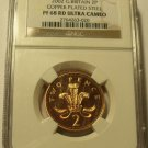 2002 NGC PROOF 68 RED ULTRA CAMEO GREAT BRITAIN TWO PENCE~FREE SHIPPING~
