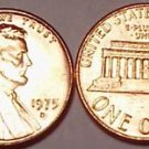 1975-D GEM BU LINCOLN CENT VERY NICE FREE SHIP INCLUDED