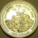 Massive Gem Unc Cook Islands 2004 Dollar~D Day Invasion Anniversary~Free Ship