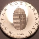 Rare Proof Hungary 2003-BP 10 Forint~Only 7,000 Minted~Minted In Budapest~Fr/Shi