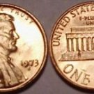 BRILLIANT UNCIRC 1973-S LINCOLN CENT~FREE SHIPPING~