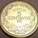 Gem Choice Uncirculated Honduras 20105 Centavos~Brass Coin~Free Shipping