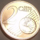 Gem Unc Cyprus 2012 1 Euro Cent~Double Ram Design~Free