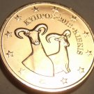 Gem Unc Cyprus 2012 1 Euro Cent~Double Rams~We Have Cyprus Unc Coins~Free Ship~