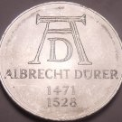 Large Unc Germany 1971-D 5 Mark Coin~500th Anniversary Of Albrecht Durer~Free Sh